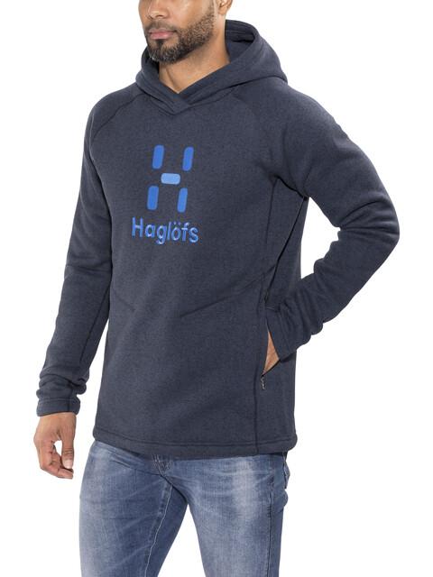 Haglöfs Swook Logo - Midlayer Hombre - azul